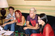 RBD em chat com o site espanhol 20 Minutos (04.09.06) - HQ! - RBD Fotos Rebelde | Maite Perroni, Alfonso Herrera, Christian Chávez, Anahí, Christopher Uckermann e Dulce Maria
