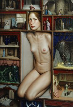 Dino Valls - Proscaenia (2011) Spanis painter born in 1959 in Zaragoza. Since 1988 he has lived and worked in Madrid.