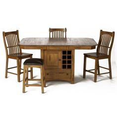 Dining Room Tables With Storage: Laurelhurst Winestoragegathering Tablestools Aamerica