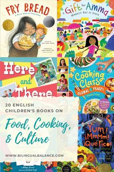 Food, Cooking, & Culture: English Children's Books - Bilingual Balance