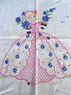 Antique Crinoline Lady Southern Belle by Holliezhobbiez on Etsy