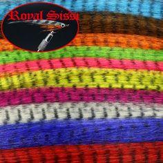 sale US $8.4510Packs 10Colors Assortment/ Fly Fishing zebra strips