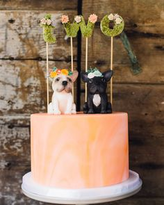 Frenchie Le Fleur: A Doggone Adorable Kids' Birthday Party | Martha Stewart - A Frenchie-themed party in a sunny private courtyard of Hollywood, California, enshrouded with lush greenery and springtime florals. #frenchbulldog #kidsbirthday #birthdayparty