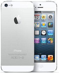Smartphone libre Apple iPhone 5 en color blanco y con 16GB. Cómpratelo en http://www.audiotronics.es/product.aspx?productid=165363