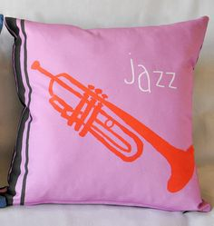 Decorative Pillow Cover  Cushion Cover Jazz