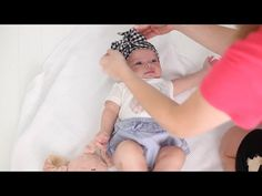 Knotted Baby Head Tie with Free Pattern!! – How Does She