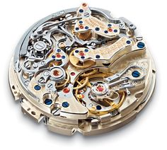 Watch movement from Lange and Soehne in Germany