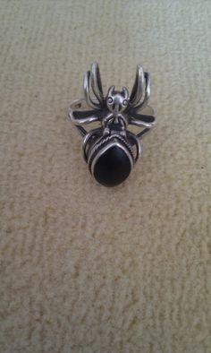 Spinnenring 925 St. Silber