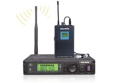 OK-800TX transmitter OK-3R UHF/PLL 32/96 Channels Rreceivers MONO Wireless In Ear Monitor System Stereo Headphones $238.95
