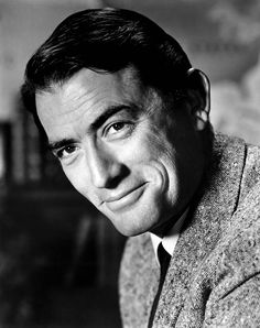 Gregory Peck: Learn more about him, review his filmography and more | Classic Movie Treasures  Gregory Peck earned his iconic status as a national father figure after portraying the noble and taciturn Atticus Finch in 1962's To Kill a Mockingbird.  #ClassicMovies #OldHollywood #Biography