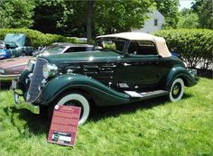 1934 Hudson Eight LT Special Convertible Coupe