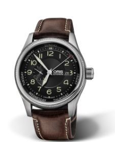f5ffba64076 Buy Oris 01 745 7688 5 22 Men s Big Crown Small Second Pointer Day Leather  Strap Watch