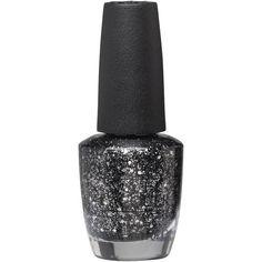 OPI Nail Lacquer 15ML The Glitter Night ($13) ❤ liked on Polyvore featuring beauty products, nail care, nail polish, nails, makeup, beauty, cosmetics, fillers, opi nail varnish and opi nail color