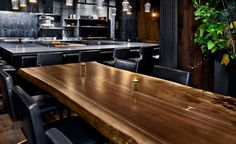 Live Edge Dining Table - Sentient Furnitures - Brooklyn, NY