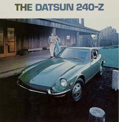 Vintage Ad: 1971 Datsun 240Z