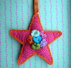 Franciens haakwerk: Stars and snowflakes (en het stijven ervan)