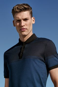 Find the perfect Father's Day gift from Calvin Klein white label, featuring premium slim-fit polos in a variety of styles, colors + fabrics.