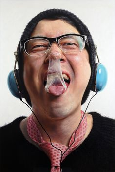 Photorealistic Painting, Kang Kang Hoon 강강훈  | his other work here: https://www.pinterest.com/haole1995/art-korea-southcontemporary/