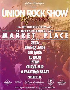 Union Rock Show en Wynwood http://crestametalica.com/evento/union-rock-show-en-wynwood/ vía @crestametalica