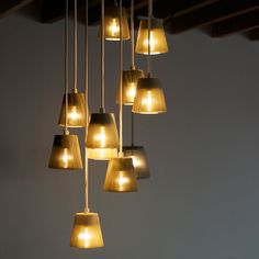 Upcycled Aluminium Pendant Lamps designed by Michael Young for EOQ | MONOQI