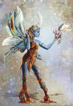 Fairy-A by fuchsiart on deviantART: http://fuchsiart.deviantart...