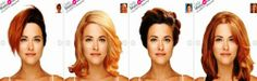 mykonos ticker: Ποιό Χρώμα μαλλιών, κούρεμα και χτένισμα σου ταιρι...