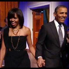 The First Lady and the President