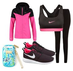 """""""Workout OOTD"""" by poshprep ❤ liked on Polyvore"""