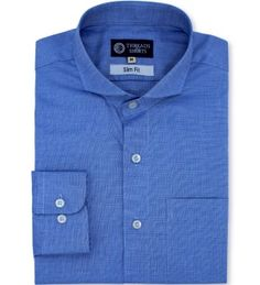 BLUE WEAVE                                                                                                   The blue weaveis a timeless dress shirt style, and our mainstay blue weave is the perfect hardwearing version. This shirt has a 1 by 120 thread count (1/120)
