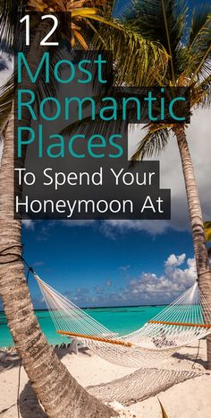 After the wedding day is over, couples look forward to celebrate their new life on their honeymoon. The places to go for honeymoon have to be charming and romantic. We've compiled a list for you with the most romantic places you can go and spend your honeymoon at.
