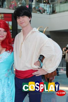 Prince Eric Cosplay from The Little Mermaid in Anime Expo 2013 US