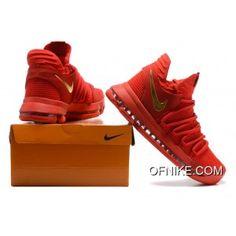 Zapatillas Hombre Nike Zoom KD 6 Valentine Azul Naranja Rojo