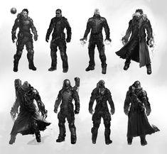 ArtStation - Cyberpunk characters, Dmitry Alexeev