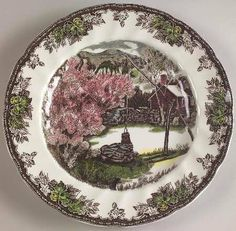 "Johnson Brothers Friendly Village, The (""England 1883"") Large Dinner Plate, Fine China Dinnerware by Johnson Brothers, http://www.amazon.com/dp/B00484INT4/ref=cm_sw_r_pi_dp_4ENIpb1S867M0"