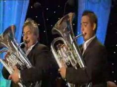 Father & Son euphonium duo perform Bizet's Pearl Fishers Duet with orchestral accompaniment.