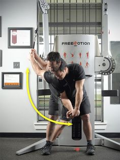 Chris Ownbey's Golf fitness impact position