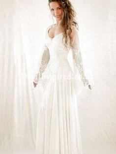 Medieval Lace Wedding Dress