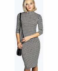 boohoo Dogtooth Turtle Neck Midi Dress - multi azz14707 No off-duty wardrobe is complete without a casual day dress. Basic bodycon dresses are always a winner and casual cami dresses a key piece for pairing with a polo neck , giving you that effortless eve http://www.comparestoreprices.co.uk/dresses/boohoo-dogtooth-turtle-neck-midi-dress--multi-azz14707.asp