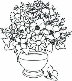 Coloring Pages Of Flowers Coloring For Kids Online