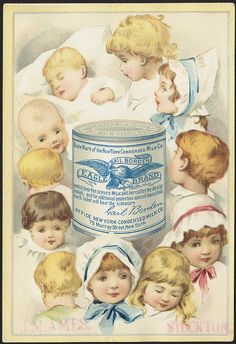 Gail Borden Eagle Brand Condensed Milk [front] by Boston Public Library, via Flickr