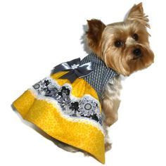 Dog Clothes Pattern 1712 Abbi Lyn Dog Dress for by SofiandFriends, $8.25