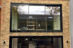 Stunning contemporary Glass Juliette balcony - we can also cut the holes required for fixing. Glass Juliet Balcony, Juliette Balcony, Glass Balcony, Small Balcony Decor, French Balcony, Bungalow Interiors, Mews House, Roof Extension, Laminated Glass