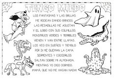 Recursos Infantiles: Proyecto El Miedo Edward Munch, Spanish Anchor Charts, Student Teaching, Halloween 2018, Activity Games, Activities For Kids, School, Pets, Poems For Children