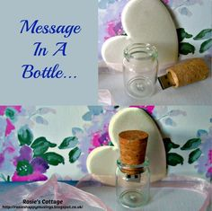 Rosie's Cottage: A Tiny, Ever So Perfect Way To Store Memories - if filled with special photos (we have our wedding photos on ours) this would make a wonderful Mothers day gift honeys x Container Organization, Home Organization, Organizing, Perfect Mother's Day Gift, Message In A Bottle, Mother's Day Diy, Cute Gifts, Holiday Fun, Our Wedding