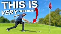 GROUNDBREAKING NEW WAY TO PUTT.....Does this putter work? GROUNDBREAKING NEW WAY TO PUTT…..Does it work? In this video PGA Golf Professional Rick Shiels tests and reviews a BRAND NEW STYLE of putter and very different putting style. Can this putter beat a traditional putter and traditional putter technique. Could this be the putting style that cures yips, 3 putts and maybe could we […] Tee One Up Golf Chris Wright, Golf Club Reviews, It Field, Golf Drivers, Putt Putt, Play Golf, Nike Golf, The Duff, Golf Ball