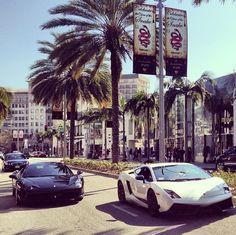 Gallardo Superleggera and Ferrari 458