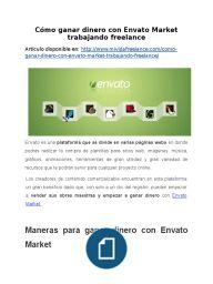 Cómo ganar dinero con Envato Market trabajando freelance