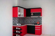 Kitchen Cupboard Designs, Kitchen Room Design, Modern Kitchen Cabinets, Kitchen Sets, Kitchen Decor, Flat Interior Design, Interior Design Kitchen, Kitchen Layout Plans, Small Modern Kitchens