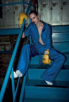 Aymeline Valade by Cédric Buchet for i-D MagazineSummer 2012 9