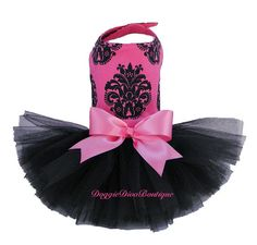 Hey, I found this really awesome Etsy listing at https://www.etsy.com/listing/85879849/dog-tutu-dress-hot-pink-couture-xxs-xs